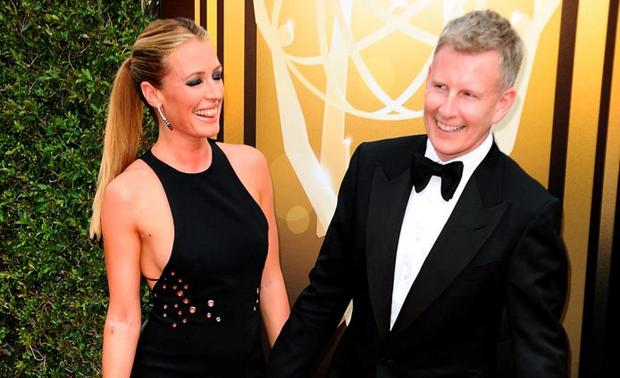 Cat Deeley and husband Patrick Kielty attend the 2015 Creative Arts Emmy Awards at Microsoft Theater on September 12, 2015 in Los Angeles, California. (Photo by Jason LaVeris/FilmMagic)