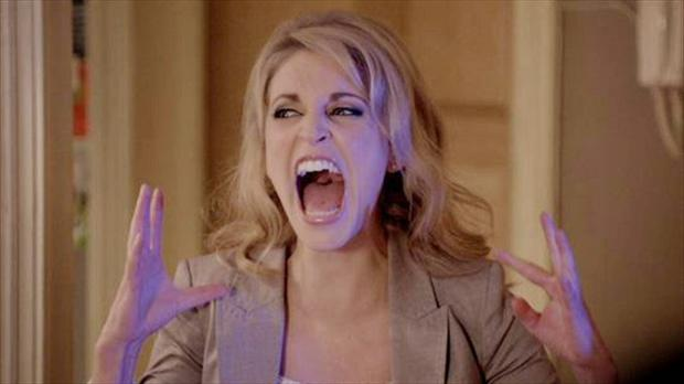 Amy Huberman in Comedy Central's Threesom