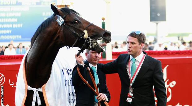 Michael Owen and Brown Panther