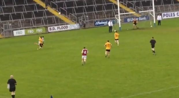 Ramor's Stefan Connolly probably isn't accustomed to scoring points as a corner-back