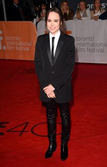Actress Ellen Page attends the