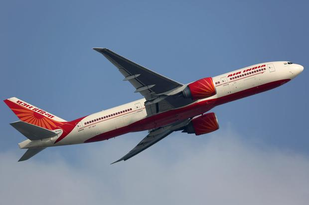 An Air India Boeing 777-200LR taking off from Hong Kong Airport (HKG) in China. Photo: Deposit.