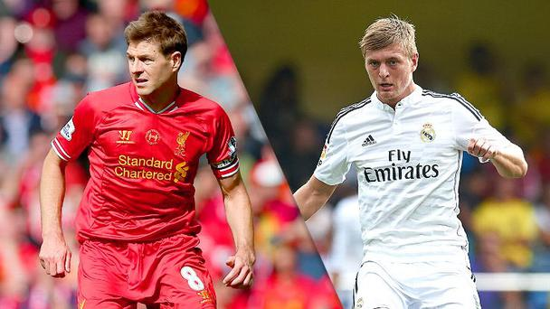 Steven Gerrard tried to convince Toni Kroos to join Liverpool before the World Cup winner signed for Real Madrid before winning the World Cup with Germany in 2014.
