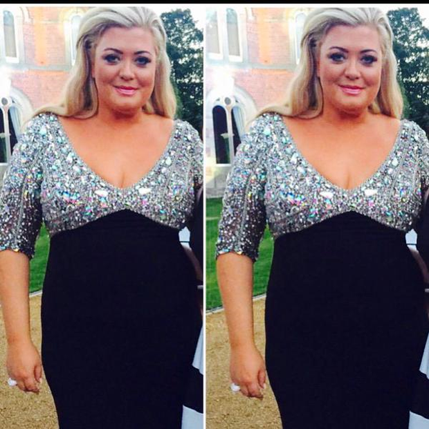 Gemma, after her weight loss