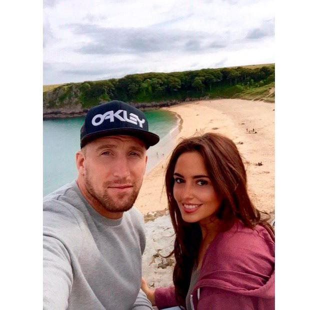 Nadia Forde and Dominic Day at Barafundle