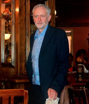 Jeremy Corbyn, the newly elected leader of the British Labour Party.