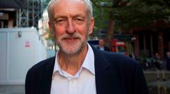 New Labour leader Jeremy Corbyn