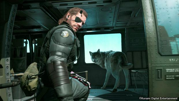 Metal Gear Solid V – The Phantom Pain: your faithful dog is an invaluable asset in the field