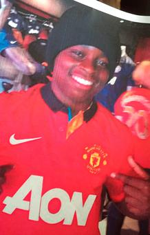 Mohamed Dura-Ray, who was stabbed to death in Canterbury Place, Kennington, south London, at 10.20pm last night Credit: Family Handout/PA Wire
