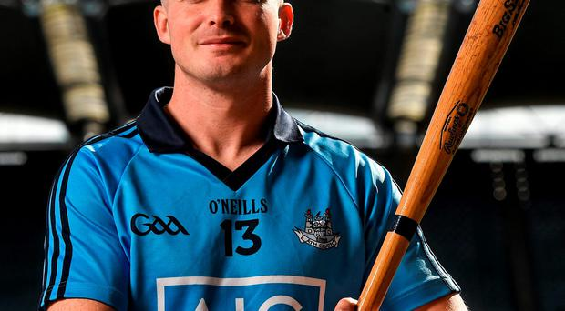 David O'Callaghan at the launch of the AIG Fenway Hurling Classic