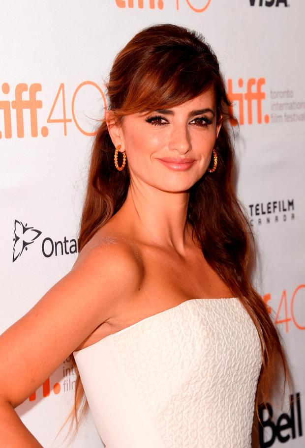 actress Penelope Cruz attends the