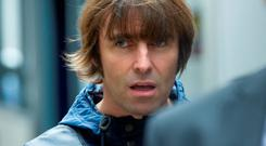 Singer Liam Gallagher arrives at the Central Family Court in London where he his embroiled in a family court dispute with ex-wife Nicole Appleton. Photo: Anthony Devlin/PA Wire