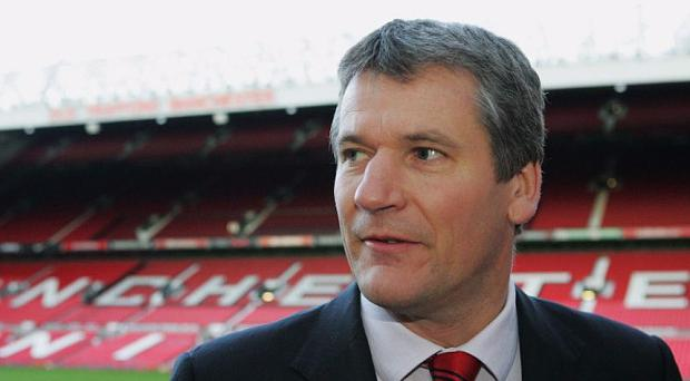 Rivalry: David Gill believes City will find it hard to match United's history and heritage