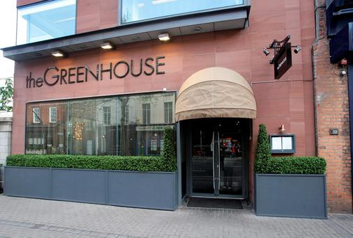 Michelin-starred: The Greenhouse on Dublin's Dawson Street
