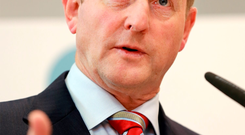 Enda Kenny: warning to his Cabinet colleagues