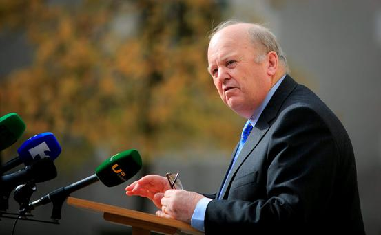 Finance Minister Michael Noonan. Photo: Gareth Chaney / Collins