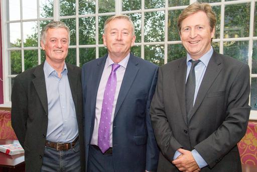 Pictured from left: Colm Carey, director, The Research Centre, Michael Cullen and JP Donnelly, chief executive, Ogilvy Ireland.