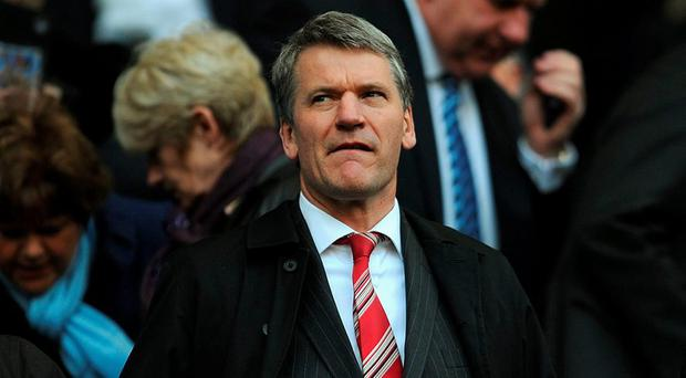 David Gill says his club's city rivals can never hope to catch up, regardless of how many trophies they win or how much money the owner, Sheikh Mansour bin Zayed al Nahyan, invests in new players