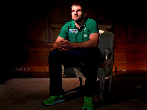 Ireland's Jared Payne in Carton House, Maynooth this week