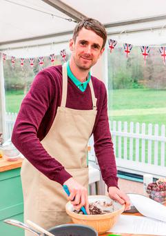 Mat Riley who has become the latest contestant to be voted off BBC1's cookery contest, The Great British Bake Off.