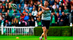 Ireland's Robbie Henshaw will miss the clash with Canada