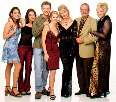 The cast of Sabrina the Teenage Witch