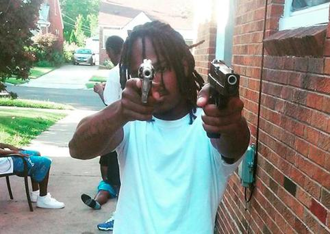 20-year-old Denzel Biggs is barred from possessing any kind of firearm Credit: Denzel Biggs