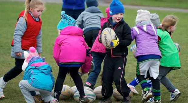 Seapoint Rugby Club are hosting a girls' Give It A Try open day on Sunday from 2.00-4.00