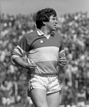 Seamus Darby playing for Offaly in June 1983