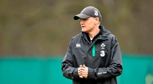 Ireland head coach Joe Schmidt