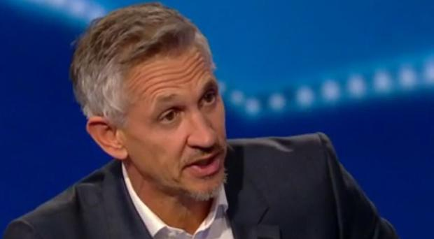 Gary Lineker was forced to make the apology