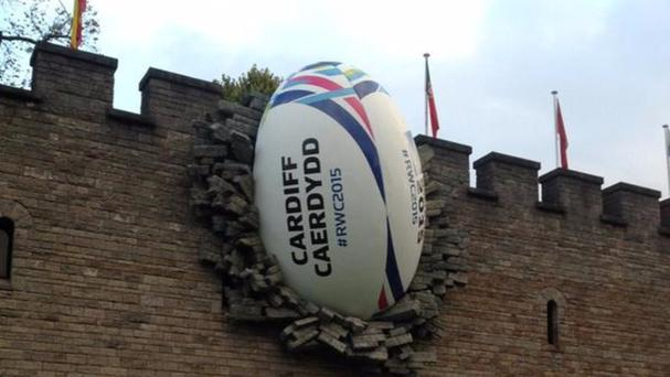 The Ball in the Wall in Cardiff, Wales. Credit : Cardiff Council
