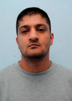 Greater Manchester Police undated handout photo of computer geek Mohammed Ali who has been jailed for eight years at the Old Bailey, London for trying to buy deadly ricin poison from the Dark Web after being inspired by the hit US television series Breaking Bad. GMP/PA Wire