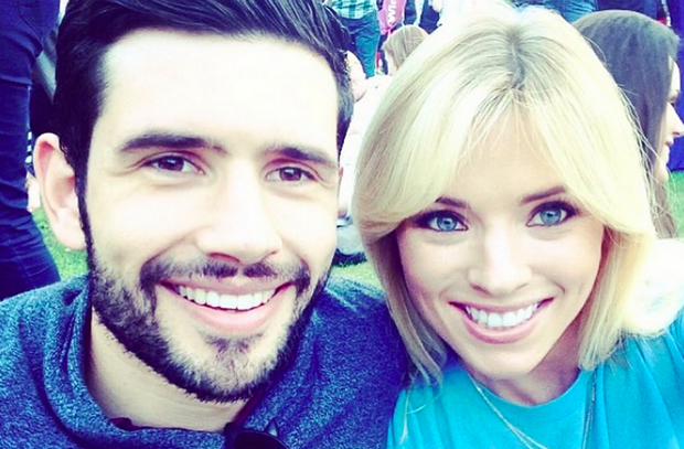 Dublin footballer Cian O'Sullivan and long-term girlfriend Danielle Byrne
