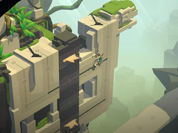 Lara Croft Go: Crisp visuals, moving hazards and smart puzzles