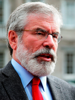 Sinn Fein president Gerry Adams indicated that he saw parallels between the Easter Rising and the PIRA's actions