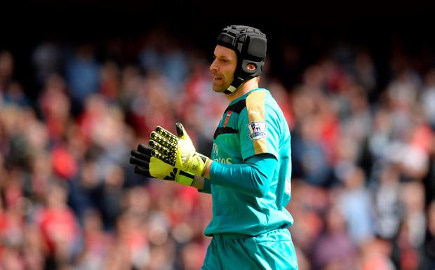Cech will return in goal for Arsenal who could go nine points clear of Chelsea if they win