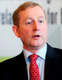 Enda Kenny will likely be absent from a motion of no confidence against his leadership