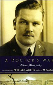 The cover of 'A Doctor's War', which recounts tales from a WWII POW camp