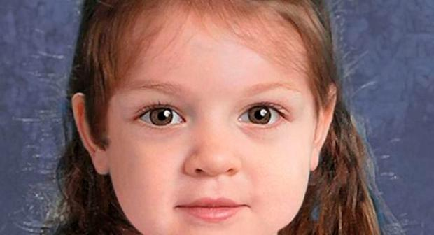 'Baby Doe' - computer generated image of young girl found dead in park