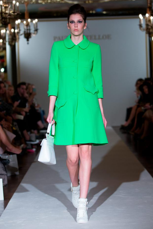 Cafe Royal, London, 18th Sept 2015. Paul Costelloe shows his Spring Summer 2016 designs Photo: Chris Yates