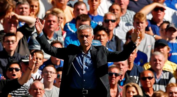Chelsea manager Jose Mourinho Action Images via Reuters / John Sibley