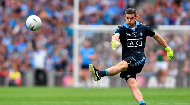 Stephen Cluxton has never looked as vulnerable as he did in the Mayo matches, and at some stage Dublin will have to take their chances under the high ball in the middle of the field