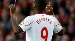 Whether Liverpool are playing to Christian Benteke's strengths is a moot point — they aren't set up to service a traditional centre-forward