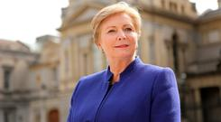 STRONG CONTENDER: Frances Fitzgerald