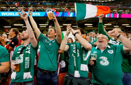 If Ireland win the World Cup in a month, will the begrudgers be as loud as the supporters?