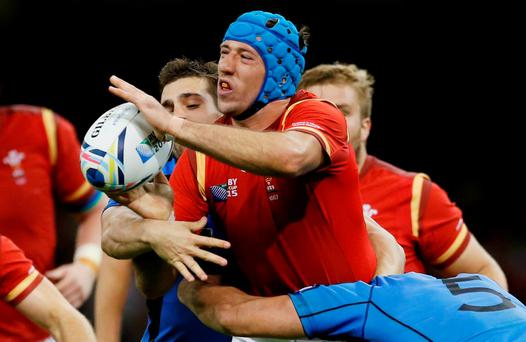 Wales' Justin Tipuric