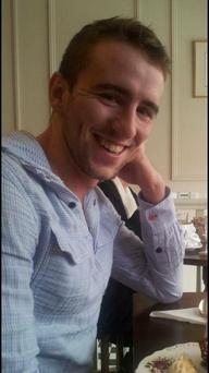 John McHugh aged 23 who tragically died after running a half-marathon in Dublin yesterday. Photo: Facebook