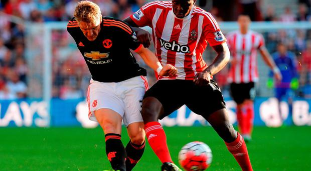 Victor Wanyama (right)