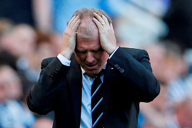 A dejected Steve McClaren after the final whistle